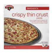 Hannaford Crispy Thin Crust Margherita Pizza