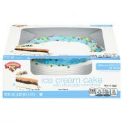 Hannaford Vanilla & Chocolate Celebrations Ice Cream Cake