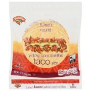 Hannaford 6 Inch Round Yellow Corn Tortillas Taco Size