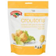 Hannaford Garlic Butter Croutons