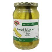 Hannaford Bread & Butter Sandwich Pickle Slices