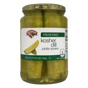 Hannaford Kosher Dill Pickle Spears