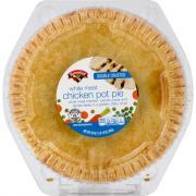 Hannaford White Meat Chicken Pot Pie