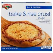 Hannaford Bake & Rise Four Cheese Pizza