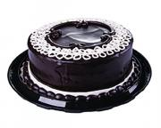 "8"" Chocolate Ganache Raspberry Filled Cake"