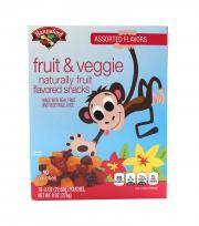 Hannaford Assorted Flavors Fruit & Veggie Fruit Snacks