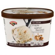 Hannaford Maple Walnut Ice Cream