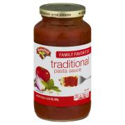 Hannaford Traditional Pasta Sauce