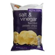 Hannaford Salt & Vinegar Kettle Potato Chips