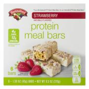 Hannaford Strawberry Protein Meal Bars
