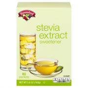 Hannaford Stevia Extract Sweetener