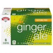 Hannaford Caffeine Free Ginger Ale