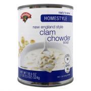 Hannaford Homestyle Clam Chowder