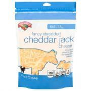 Hannaford Fancy Cheddar Jack Shredded Cheese