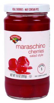 Hannaford Maraschino Salad Cherries