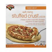 Hannaford Three Meat Self-Rising Stuffed Crust Pizza