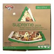 """Hannaford Deli Style 16"""" Supreme Pizza"""