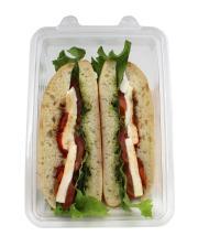 Taste of Inspirations Pesto Mozzarella Caprese Sandwich