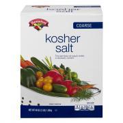 Hannaford Course Kosher Salt