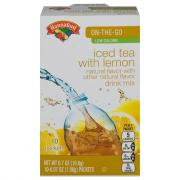 Hannaford Iced Tea Drink Mix