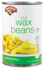 Hannaford Cut Wax Beans