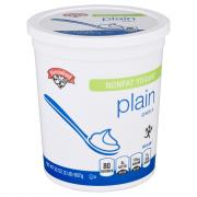 Hannaford Nonfat Plain Yogurt