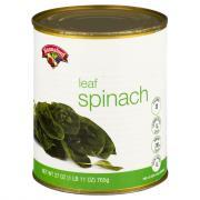 Hannaford Whole Leaf Spinach