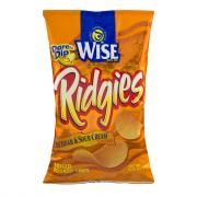 Wise Cheddar & Sour Cream Ridgies Potato Chips