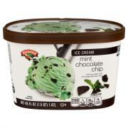 Hannaford Mint Chocolate Chip Ice Cream