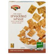 Hannaford Bite Size Shredded Wheat Cereal