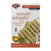 Hannaford Rosemary Oil Woven Wheats Crackers
