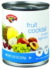 Hannaford Fruit Cocktail in Extra Lite Syrup