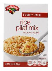 Hannaford Microwave Rice Pilaf Mix Family Pack