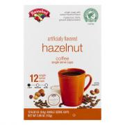 Hannaford Hazelnut Coffee Single Serving Cup