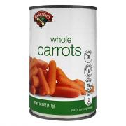 Hannaford Whole Carrots