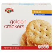 Hannaford Whole Wheat Snack Cracker Rounds