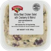 Hannaford Chicken Walnut & Cranberry Salad