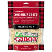 Cabot Hunter's Shredded Sharp Cheese