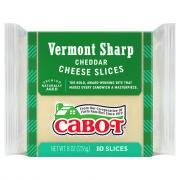 Cabot White Cheddar Cheese Slices