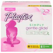 Playtex Gentle Glide Unscented Tampons Multipack