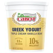 Cabot Greek Triple Cream Yogurt Vanilla Bean