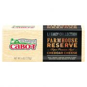 Cabot Premium Farmhouse Reserve Aged Cheddar Cheese
