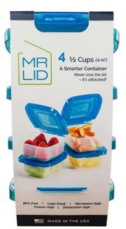 Mr Lid A Smarter Container 1/2 Cup Set