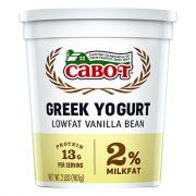 Cabot Greek Style Lowfat Vanilla Bean Yogurt