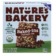 Nature's Bakery Organic Chocolate Oat Baked-Ins