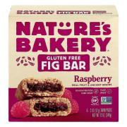 Nature's Bakery Gluten Free Raspberry Fig Bars