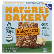 Nature's Bakery Organic Banana Chocolate Chip Baked-Ins