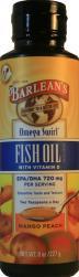 Barlean's Mango Peach Omega Swirl Fish Oil