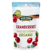 Decas Farms Organic Premium Dried Cranberries