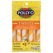 Polly-O Twists Mozzarella and Cheddar